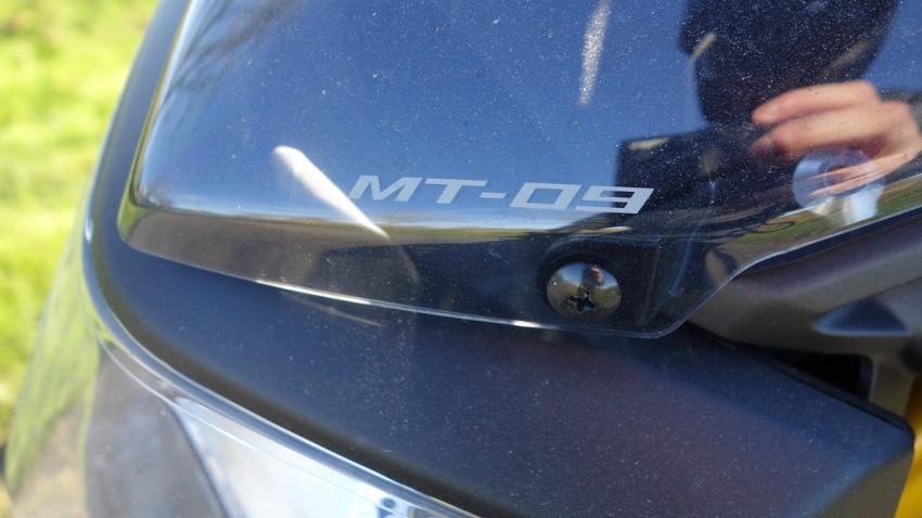 moto MT 09 à Rennes (revendeur planète yam)