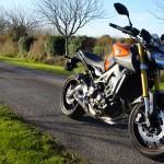 essai moto Yamaha MT-09 à Rennes