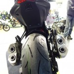 4 échappements Z1000 2014 Kawasaki