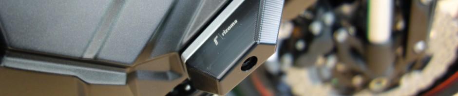 Rizoma Z800 Kawasaki ; protection du cadre