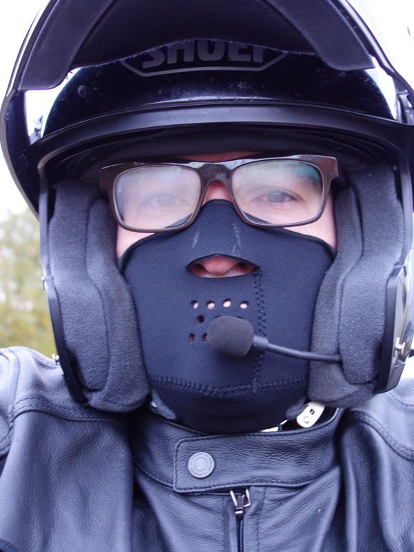 Windstopper Held et la buée sur les lunettes