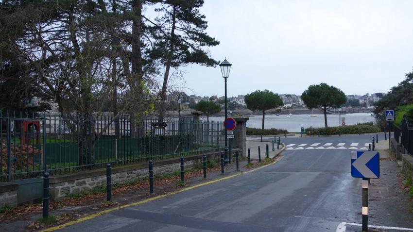 plage du prieuré à Dinard (Bretagne)