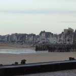 Digue de Saint-Malo : les grandes marées 2013