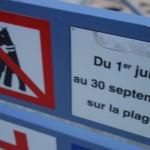interdiction des chiens sur la plage à Saint-Malo
