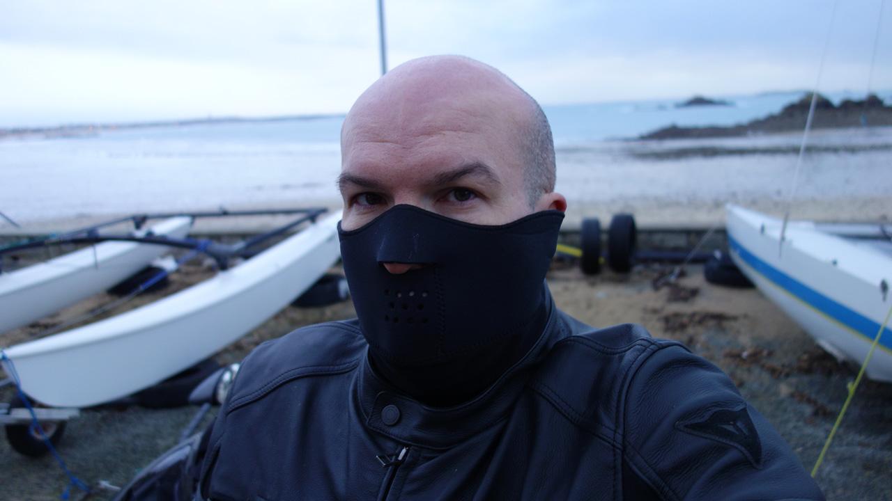 David Jazt recommande le cache cou Windstopper Held