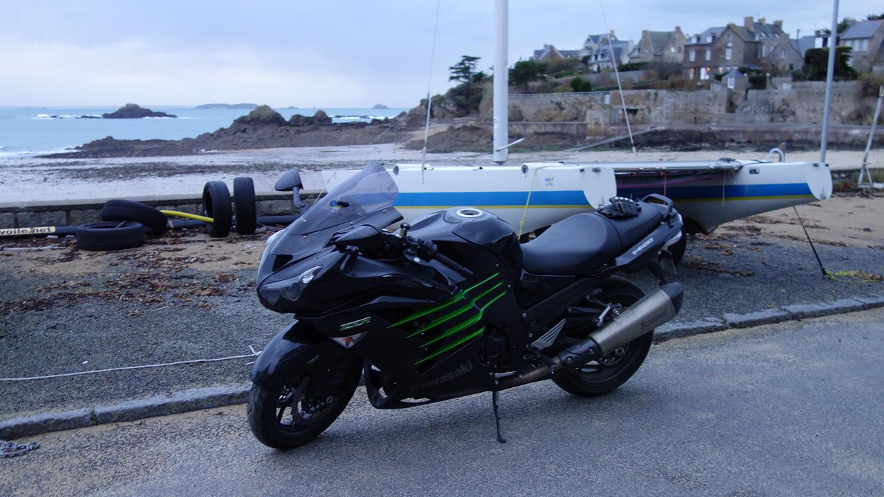 Kawasaki Saint-Malo, rencontre motarde Saint-Malo