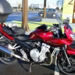 650 Bandit de Mathieu, Suzuki Rennes Drym's moto