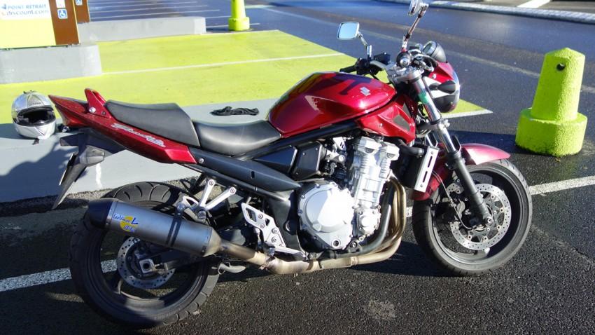 1250 Bandit d'Alban, Suzuki Drym's Moto Rennes