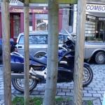 Pan European Honda, une grosse moto Deauville Honda d'Hubert