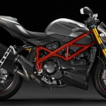 Ducati Streetfighter 1098 S 2013 grise et rouge