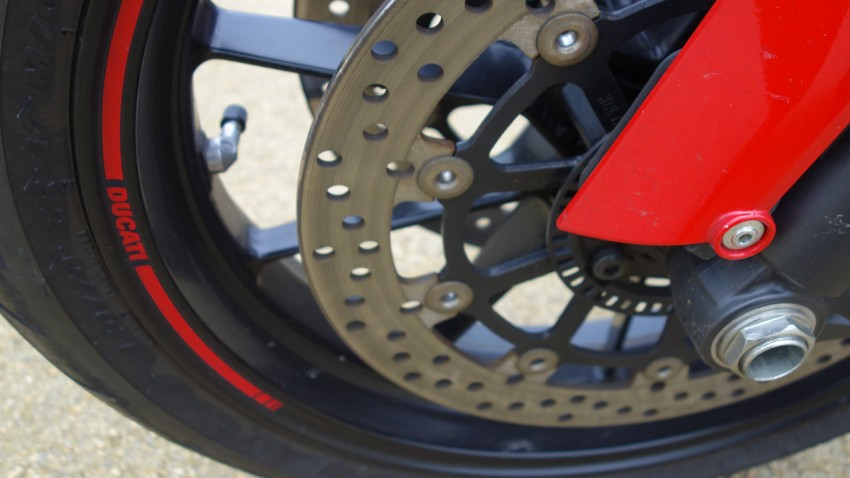 ABS de série du 1100 Monster EVO Ducati
