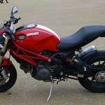 moto italienne : ducati mostro à Laval