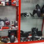 pièce en carbone pour moto Ducati