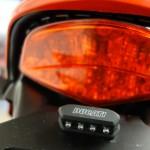 Feu arrière et support de plaque Ducati Performance pour le monster 1100 evo