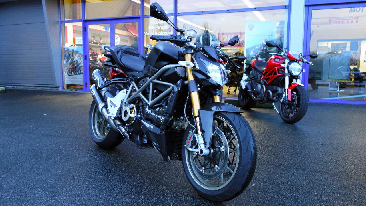 Ducati Streetfighter 1098 S noire mat