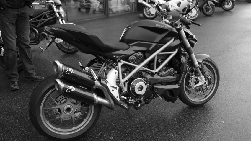 Ducati de David Jazt en 2014