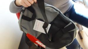 sac de transport pour casque de moto