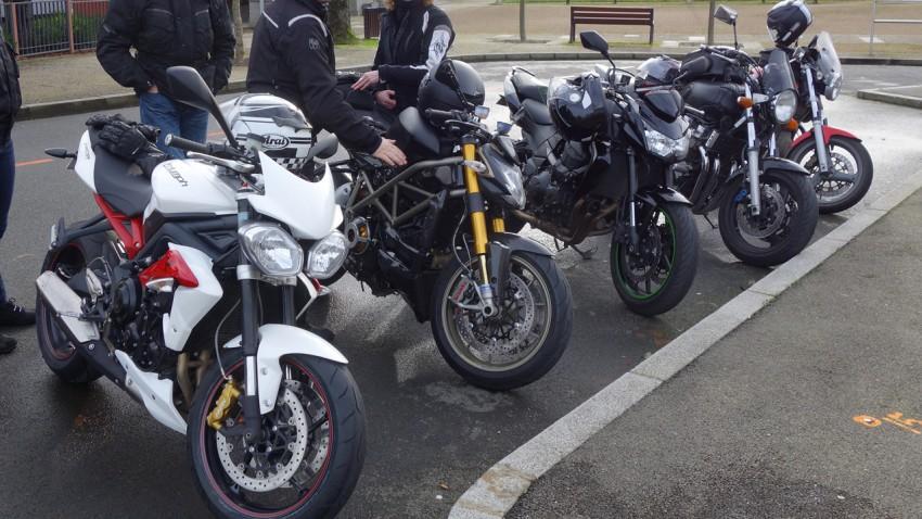 balade moto au départ de Betton (motard Rennais)