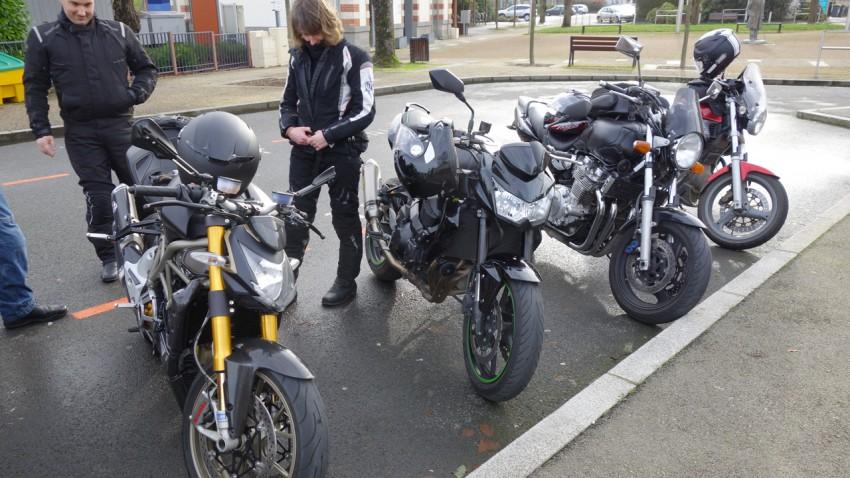 motard Rennais en 2014 : un réseau de près de 45 motards actifs