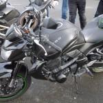 Kawasaki MotoShop 35 à Rennes, moto d'Arnaud, motard Rennais