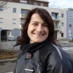 Motarde Rennaise : Magdalena en BMW F 800 R blanche