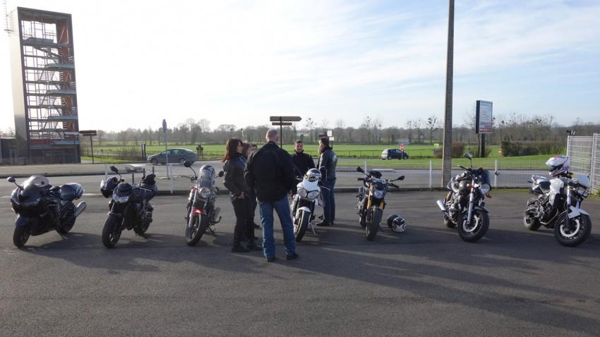 Balade moto à combourg