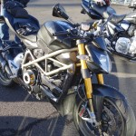 Noire mat Ducati Streetfighter 1098 S de David Jazt