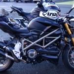 Ducati Streetfighter 1098 S noir mat Ducati Performance Carbone