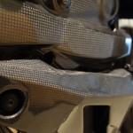sabot moteur Ducati Performance en carbone
