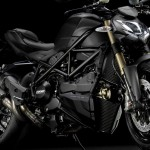 Ducati Streetfighter 848 2012 noir cadre noir