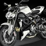 Ducati 1098 Streetfighter blanche standard