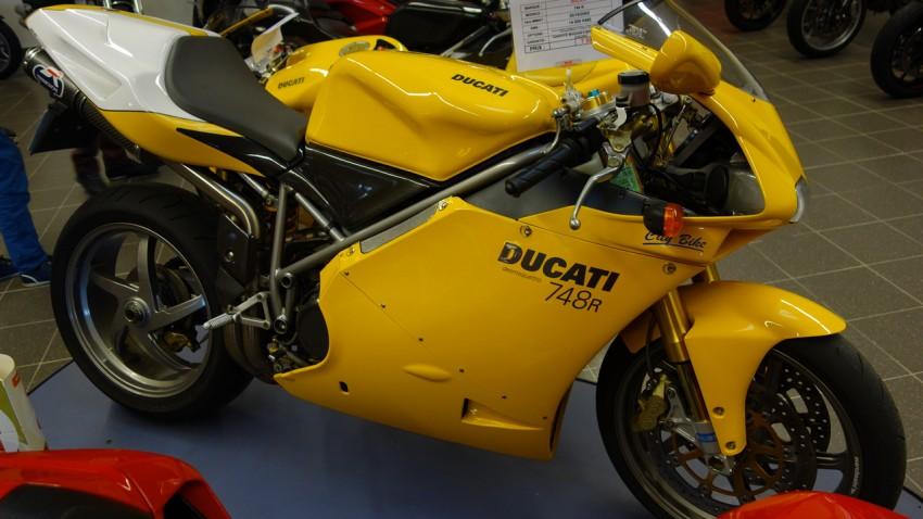 super bike Ducati 996, la petite soeur du 1098