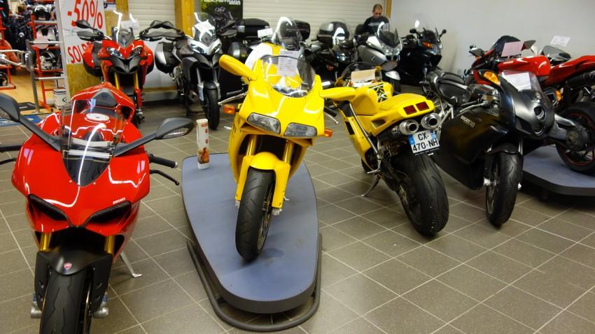 Ducati moto des années 2000