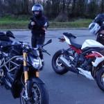 Balade moto motard Rennais