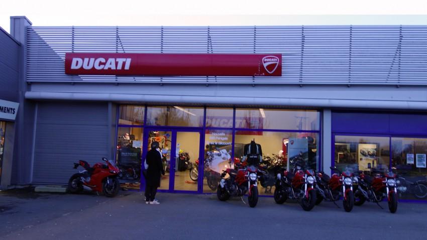 Ducati Store de Laval (Mayenne)