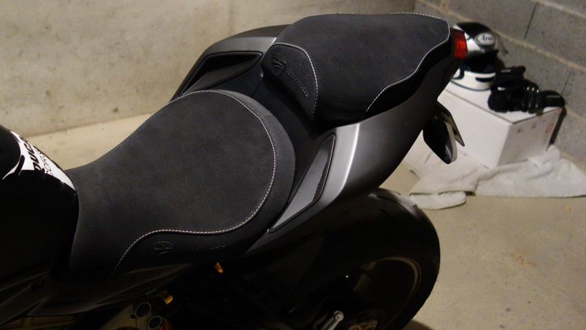 double selle confort Ducati Performance