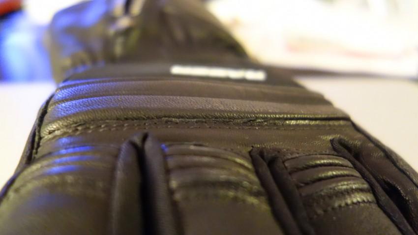 """gant moto d""""hiver, David Jazt recommande la marque RACER"""