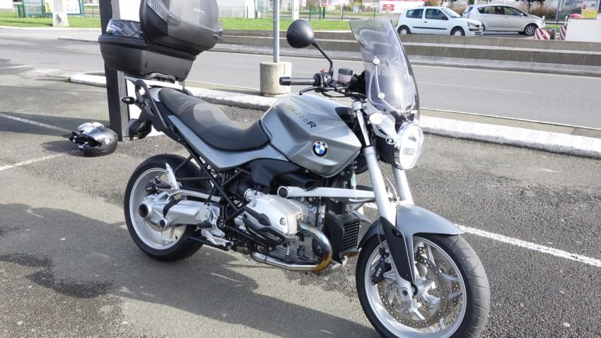 R12R BMW acheté chez City Bike, motard de Chateaubourg
