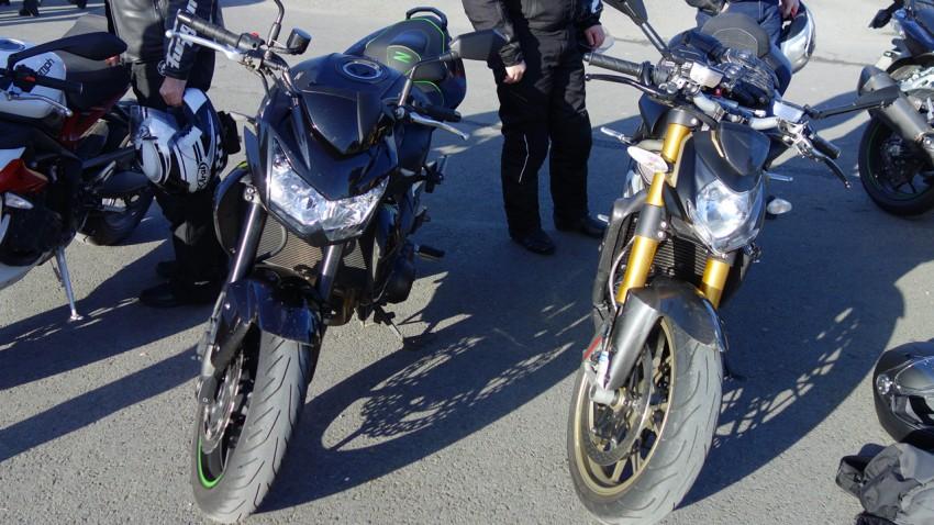 Z 750 et Streetfighter 1098 S
