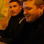 Arbnaud et Laurent, Motards Rennais à Saint-Malo