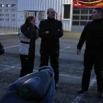motard Rennais à l'arrivée sur Rennes