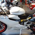 Ducati Panigale 899 au Ducati Store de Nantes (Pays de la Loire)