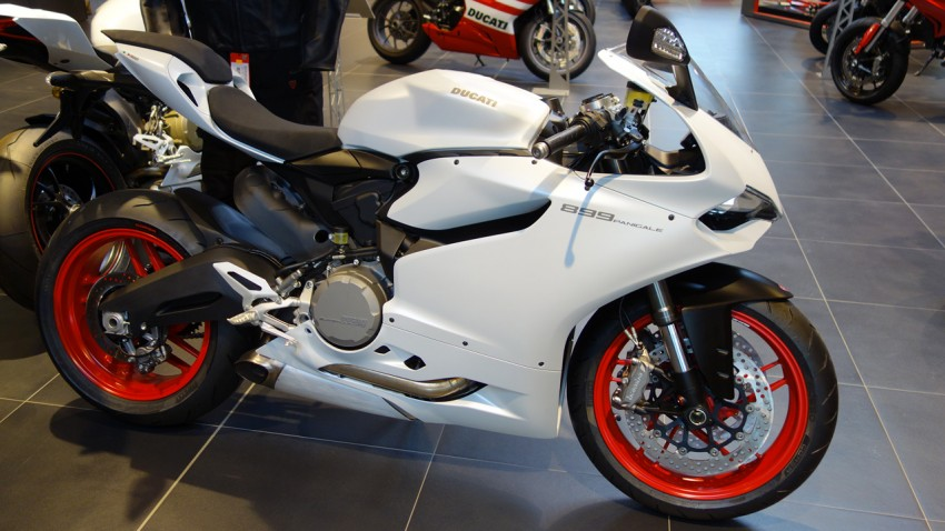 Ducati Panigale 899 2014 à Nantes