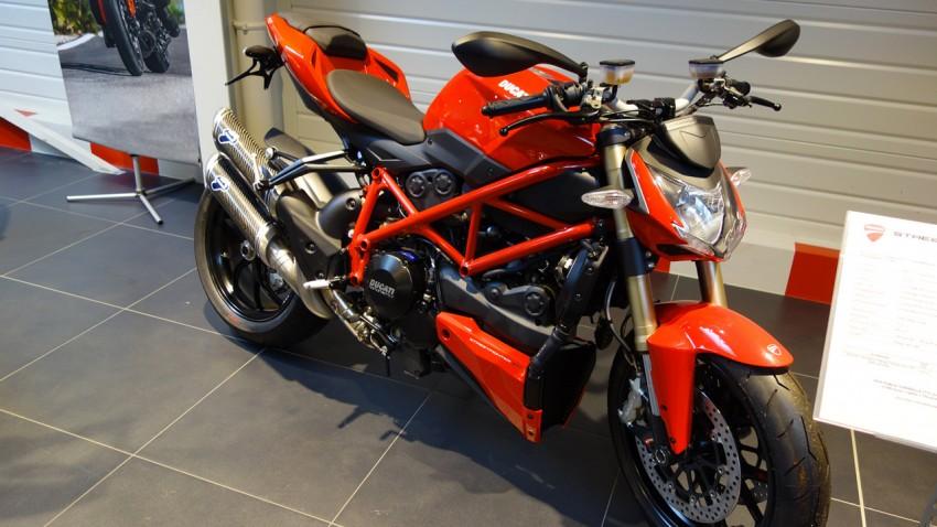 Ducati Streetfighter 848 à Nantes