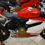 Ducati 1199 S Panigale Tricolor à la Roche sur Yon