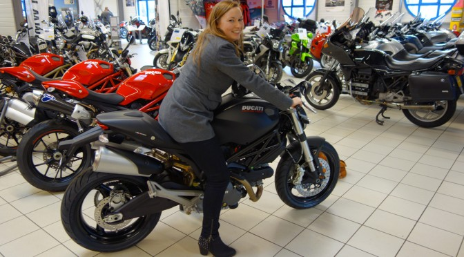 Ducati monster 696 au Ducati Store de la Roche sur Yon