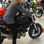 Ducati Store Roche sur Yon : Melle Laura