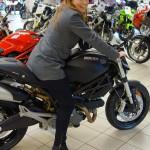 Laura en Ducati