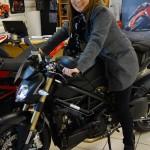 Ducati Store la Roche sur Yon (Lebrasseur moto) : Streetfighter 848 noir mat