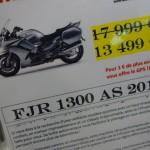 Yamaha FJR 1300 ABS à prix promo pour Bertrand